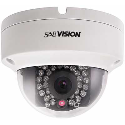 SABVISION 2200 4MP 2.5K QHD Fixed Dome IP Camera (P202)