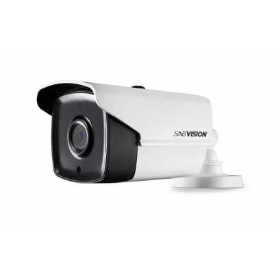 SABVISION Turbo 400 5MP 2.5K QHD EXIR 2.0 Bullet PoC Analog Camera (P222)