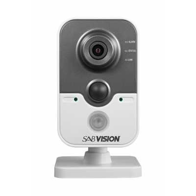 SABVISION 2400 4MP 2.5K QHD Cube IP Camera